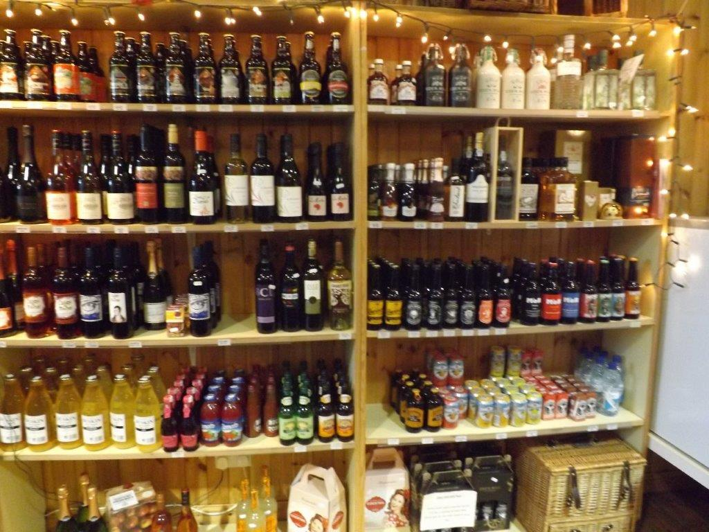 A wide range of alcohol available
